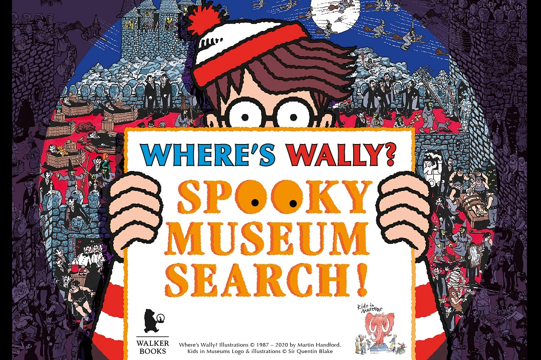 Wheres Wally Spooky Museum Search